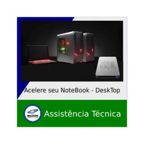 Acelere seu Notebook ou Desktop