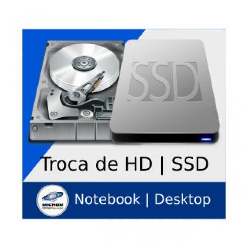 Troca de HD / SSD