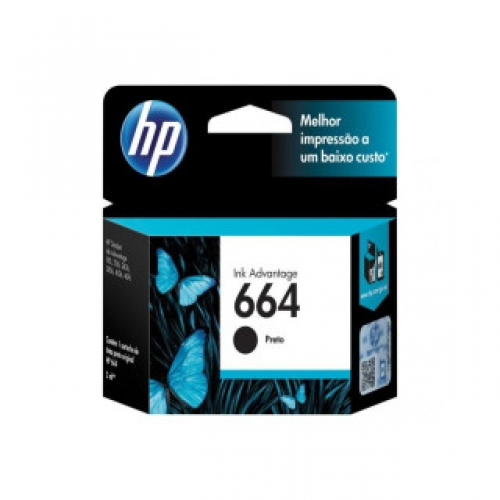 Cartucho Hp 664 Black