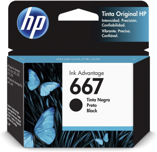Cartucho Hp 667 Black Original