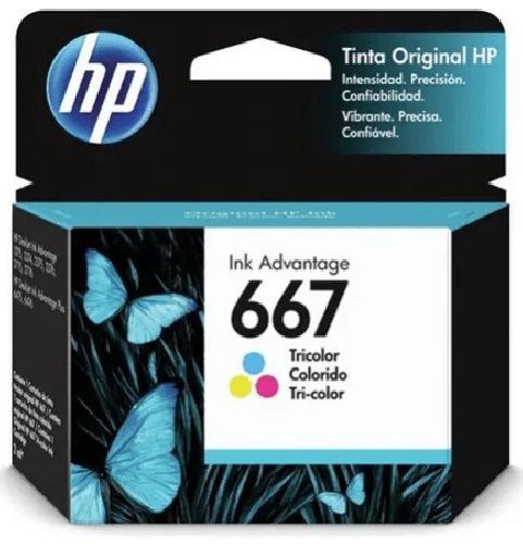 Cartucho Hp 667 Color Original