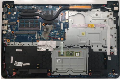 Reparo da Carcaça e Placa Mãe - Notebook Dell Inspiron 15 - 5000